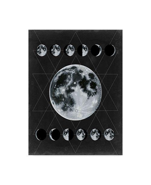 "Trademark Global Naomi Mccavitt La Luna Canvas Art - 15"" x 20"""