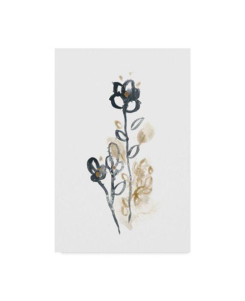 "Trademark Global June Erica Vess Bronze Bouquet IV Canvas Art - 20"" x 25"""