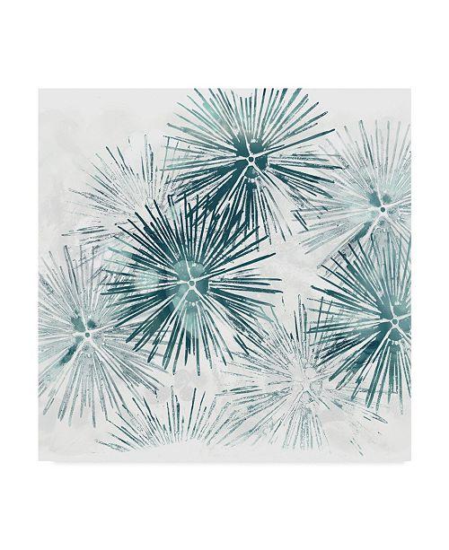 """Trademark Global June Erica Vess Sea Life Batik VI Canvas Art - 15"""" x 20"""""""
