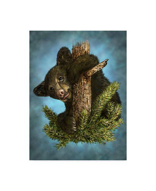"Trademark Global Patrick Lamontagne Baby Gruff Canvas Art - 15"" x 20"""