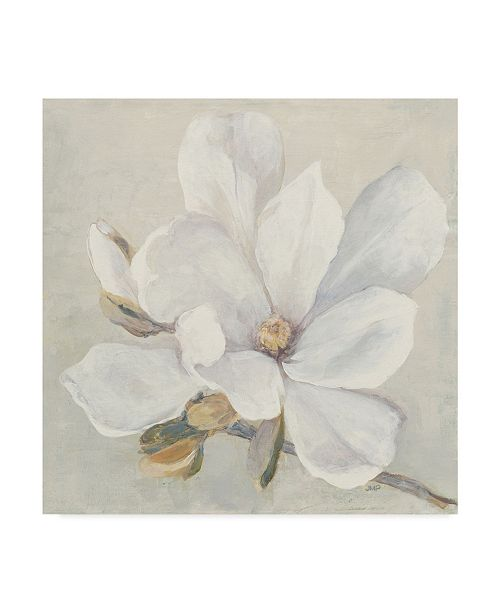 "Trademark Global Julia Purinton Serene Magnolia Canvas Art - 15"" x 20"""