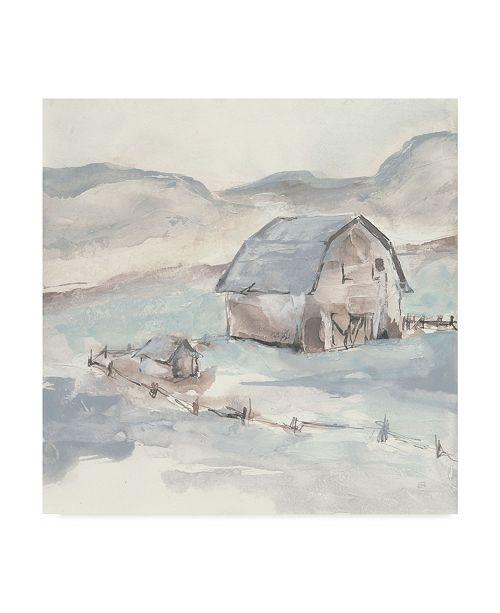 "Trademark Global Chris Paschke Barn IV Canvas Art - 20"" x 25"""