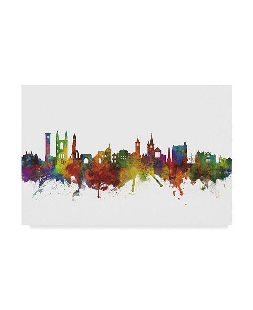 "Trademark Global Michael Tompsett St Andrews Scotland Skyline II Canvas Art - 20"" x 25"""