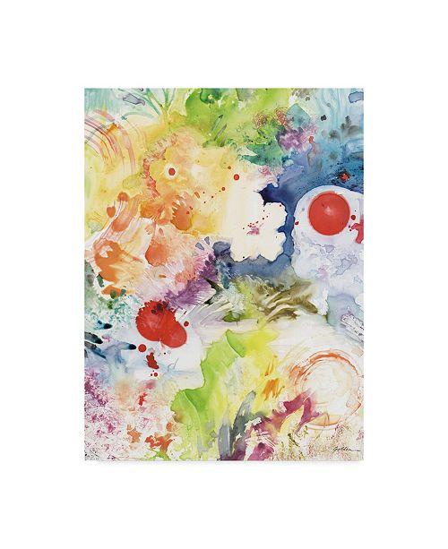 """Trademark Global Sheila Golden Carnavale Canvas Art - 15"""" x 20"""""""