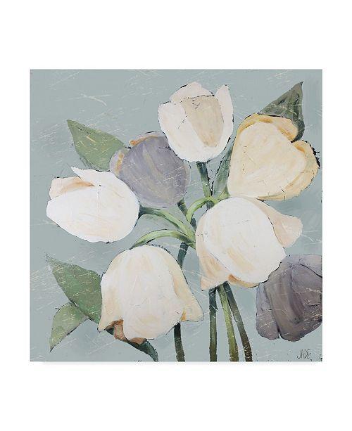 "Trademark Global Jade Reynolds French Tulips I Canvas Art - 20"" x 25"""