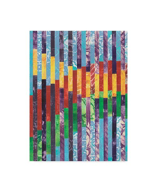 "Trademark Global Regina Moore Quilted Monoprints I Canvas Art - 20"" x 25"""