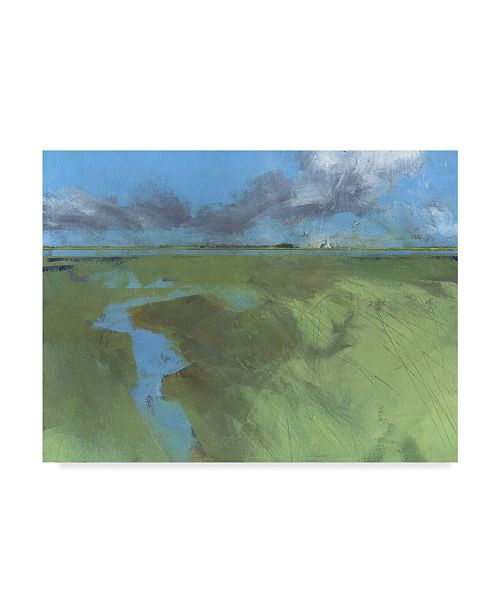 "Trademark Global Paul Bailey Back Water High Tide Canvas Art - 37"" x 49"""