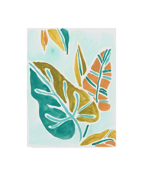 "Trademark Global June Erica Vess Jungle Expression I Canvas Art - 20"" x 25"""