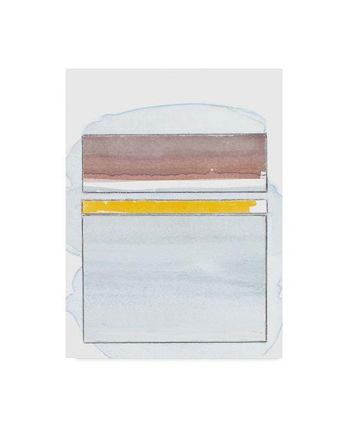 "Trademark Global Rob Delamater Pacific Horizon XI Canvas Art - 37"" x 49"""