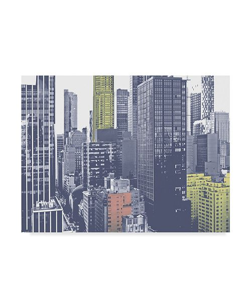 """Trademark Global Jeff Pica Pastel NYC III Canvas Art - 15"""" x 20"""""""