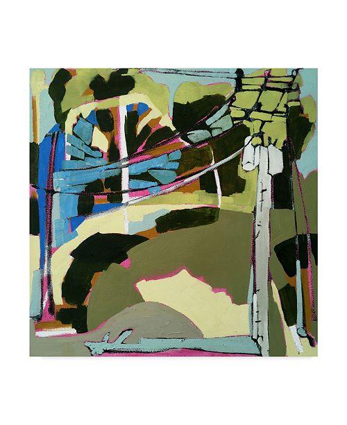"Trademark Global Erin Mcgee Ferrell Trees & Wires VI Canvas Art - 15"" x 20"""