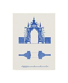 "Vision Studio Pagoda Design III Canvas Art - 15"" x 20"""