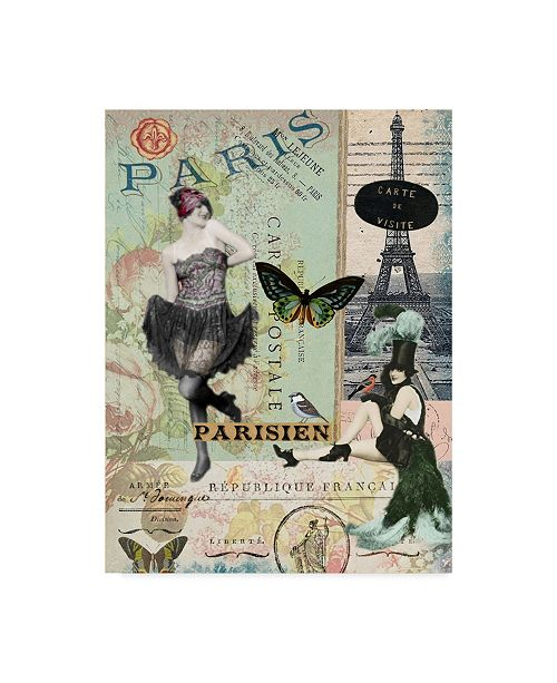 "Trademark Global Sandy Lloyd Femme Paris III Canvas Art - 15"" x 20"""