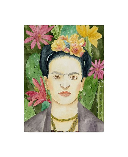 "Trademark Global Melissa Wang Frida Kahlo I Canvas Art - 20"" x 25"""
