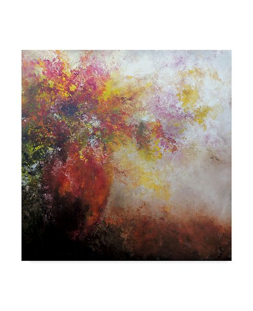 "Trademark Global Leticia Herrera Nicho Rojo Canvas Art - 15"" x 20"""