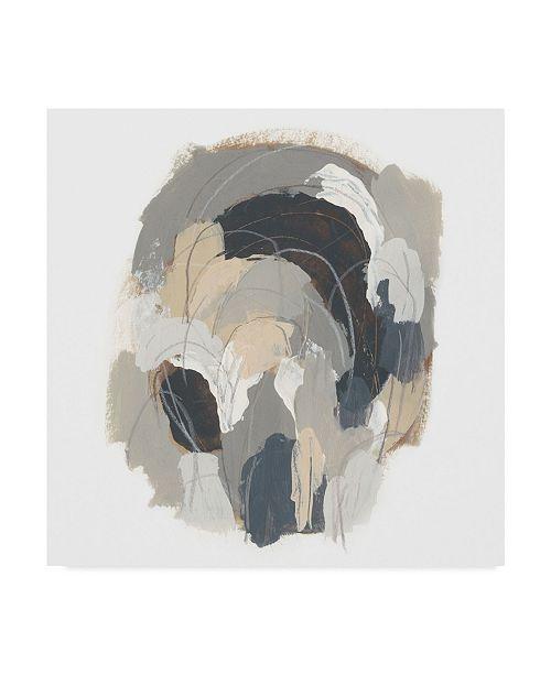 "Trademark Global June Erica Vess Neutral Vortex I Canvas Art - 20"" x 25"""