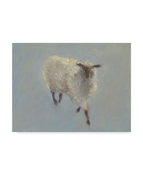 "Trademark Global Marilyn Wendling Sheep Strut II Canvas Art - 15"" x 20"""