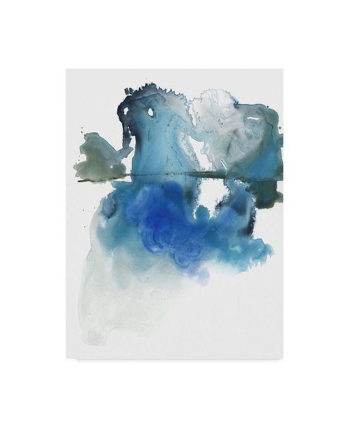 "Trademark Global Jennifer Paxton Parker Glacier Melt I Canvas Art - 15"" x 20"""