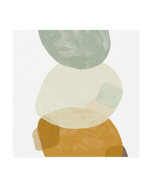 "Trademark Global June Erica Vess Platelet IV Canvas Art - 15"" x 20"""