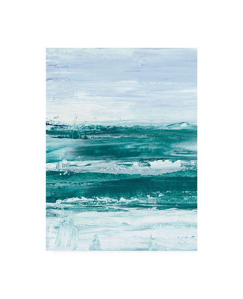 "Trademark Global Ethan Harper Choppy Waters I Canvas Art - 37"" x 49"""