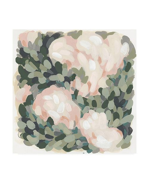 "Trademark Global June Erica Vess Blush and Celadon II Canvas Art - 15"" x 20"""