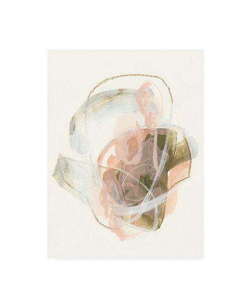 "Trademark Global June Erica Vess Hyacinth Gesture I Canvas Art - 15"" x 20"""