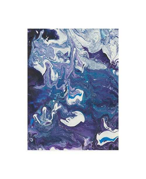 "Trademark Global Regina Moore Meandering Mulberry I Canvas Art - 20"" x 25"""
