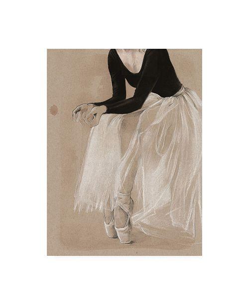 "Trademark Global Jennifer Paxton Parker Ballet Study I Canvas Art - 20"" x 25"""