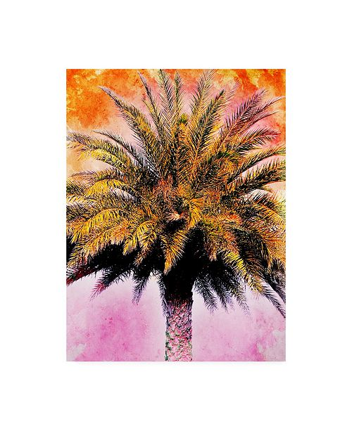"Trademark Global Skip Nall Hifi Palms IV Canvas Art - 20"" x 25"""