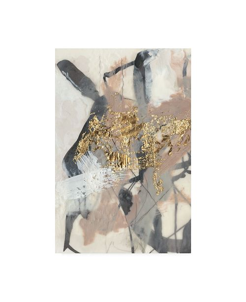 "Trademark Global Jennifer Goldberger Golden Blush I Canvas Art - 15"" x 20"""