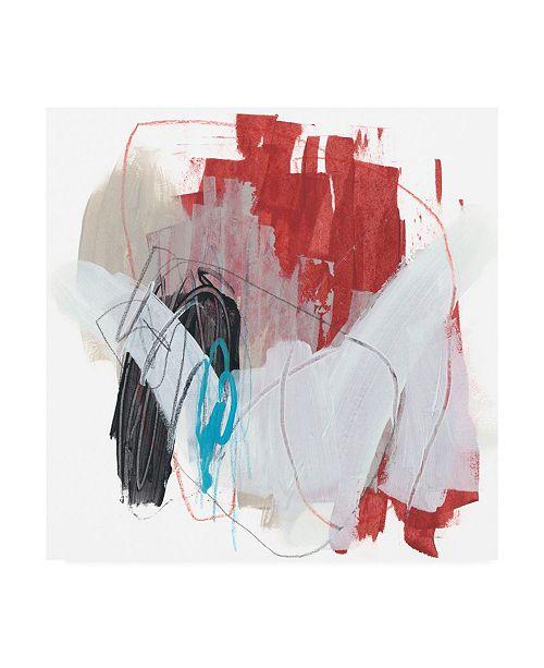 "Trademark Global June Erica Vess Symphony in Riffs V Canvas Art - 15"" x 20"""