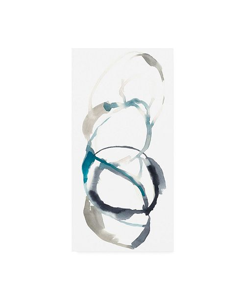 "Trademark Global Jennifer Goldberger Coil I Canvas Art - 20"" x 25"""