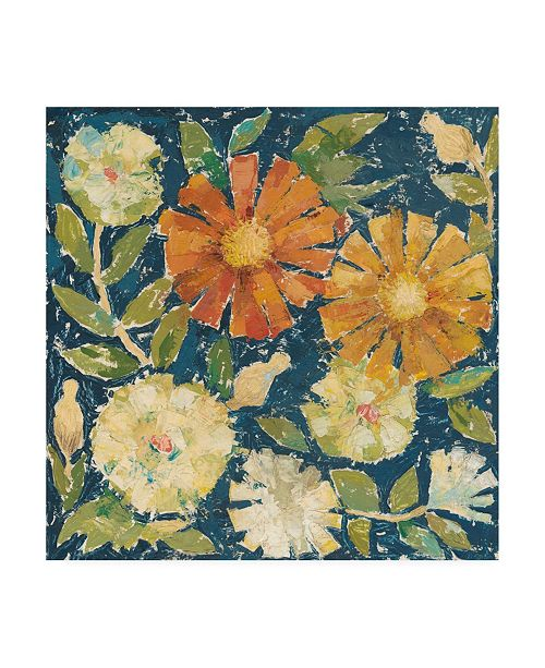 "Trademark Global Megan Meagher April Flowers I Canvas Art - 27"" x 33"""