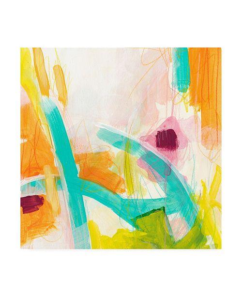 "Trademark Global June Erica Vess Tangerine Dream I Canvas Art - 20"" x 25"""
