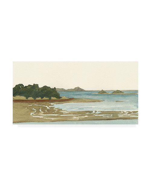 "Trademark Global Dianne Miller Spa Coastline I Canvas Art - 20"" x 25"""