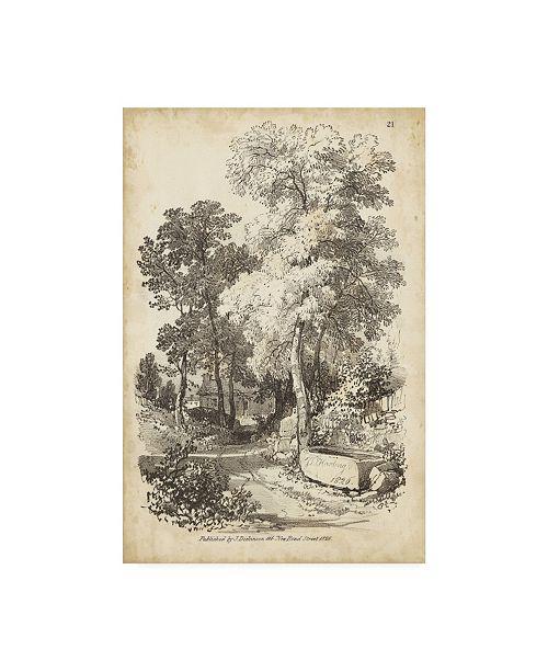 "Trademark Global J.D. Harding Noble Tree I Canvas Art - 20"" x 25"""
