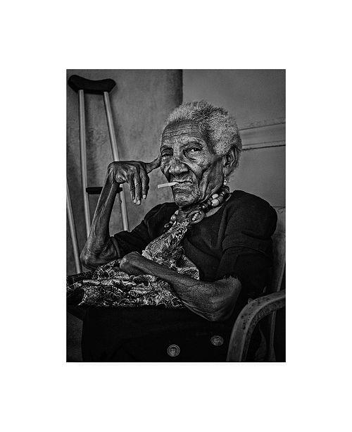 "Trademark Global Paul Gs Woman of Cartagena Canvas Art - 20"" x 25"""