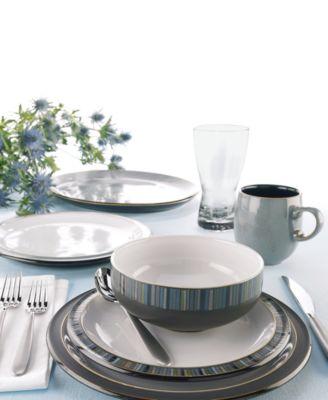 main image; main image ...  sc 1 st  Macy\u0027s & Denby Dinnerware Jet Collection - Dinnerware - Dining ...