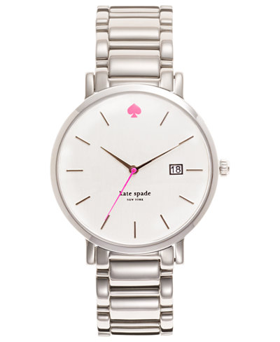 kate spade new york Watch, Women's Gramercy Stainless Steel Bracelet 38mm 1YRU0008