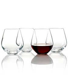 Stemware, Tuscany Classics Stemless Red, Set of 4