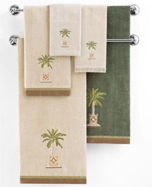 Avanti Banana Palm Cotton Hand Towel Bedding 201482