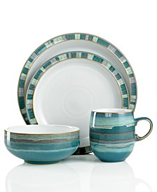 Dinnerware, Azure Coast 4-Piece Place Setting