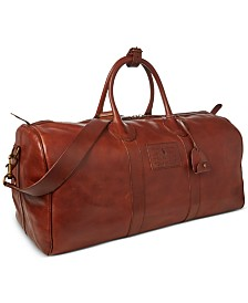 Polo Ralph Lauren Men's Leather Duffel Bag
