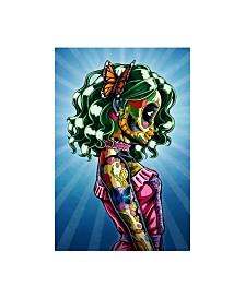 "Nicholas Ivin Annabelle Woman Canvas Art - 15.5"" x 21"""