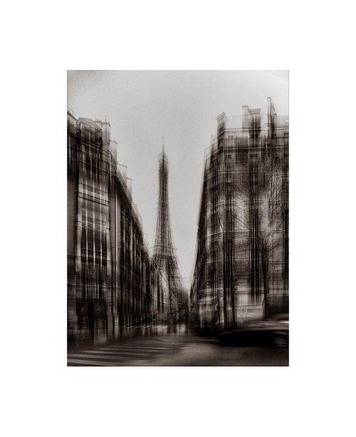 "Trademark Global Chris Coenders Shake Eiffel Tower Canvas Art - 27"" x 33.5"""
