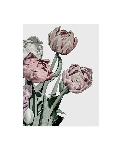 "Trademark Global Design Fabrikken Tulips Bright Fabrikken Canvas Art - 15.5"" x 21"""