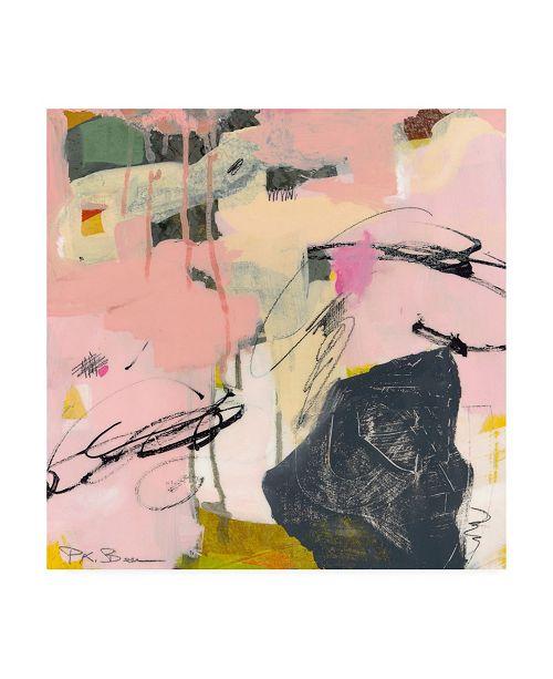 """Trademark Global Pamela K. Beer Sylvan Zephyr No. 4 Canvas Art - 19.5"""" x 26"""""""