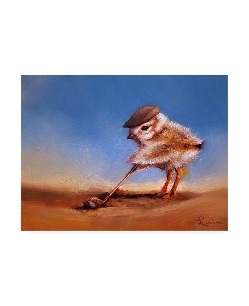 "Trademark Global Lucia Heffernan Birdie Shot Canvas Art - 19.5"" x 26"""