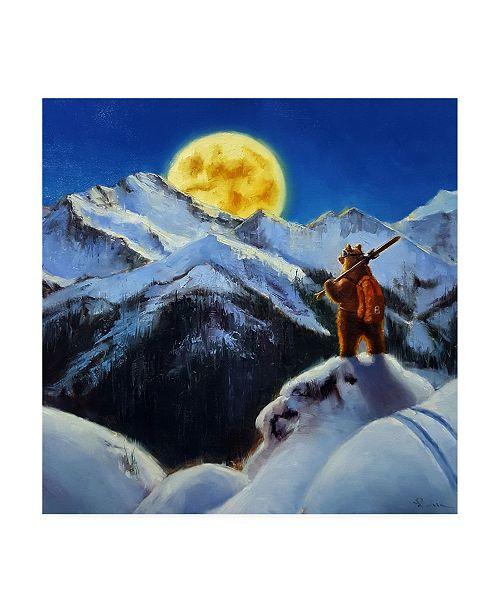 "Trademark Global Lucia Heffernan Night Patrol 2 Canvas Art - 15.5"" x 21"""