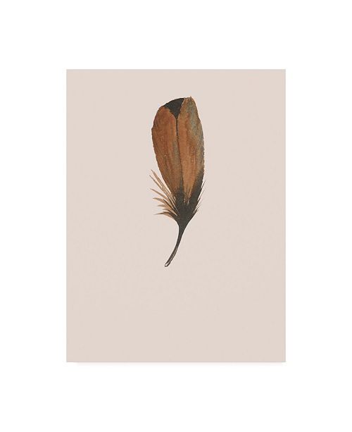 "Trademark Global Incado Feather 08 Canvas Art - 36.5"" x 48"""
